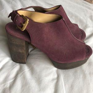 Purple Michael Kors Heels